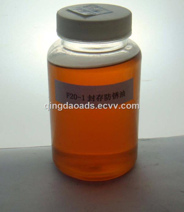 China Factory Wholesale Metal Storaged Anti Rust Oil F20-1