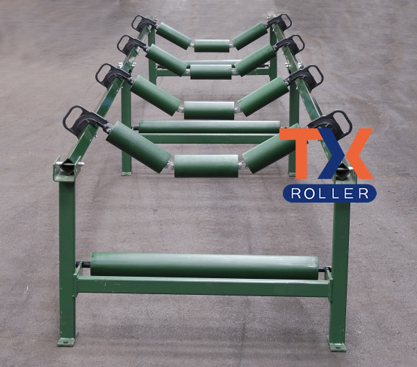 Garland Rubber Belt Conveyor Roller from China Manufacturer