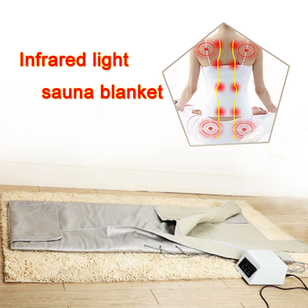 Factory price body slimming machine portable 3 zones far infrared sauna blanket