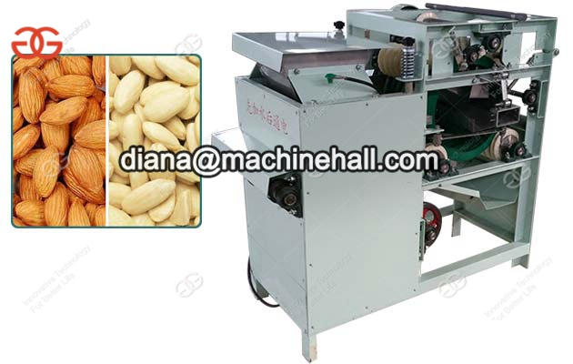 Wet Peanut Red Skin Peeling MachineAlmond Skin Peeler Machine