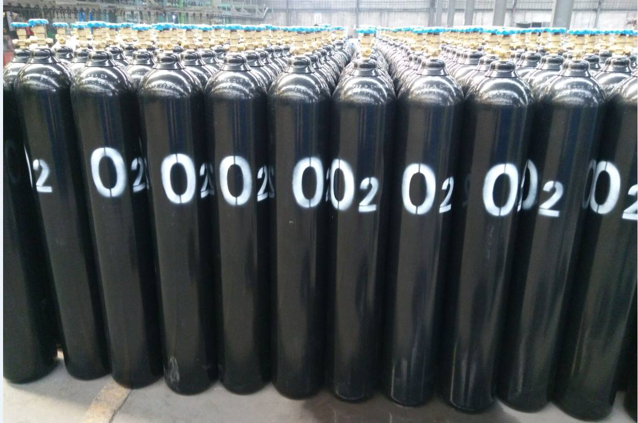ISO9809-3 40L 6m3 Oxygen Gas Cylinder