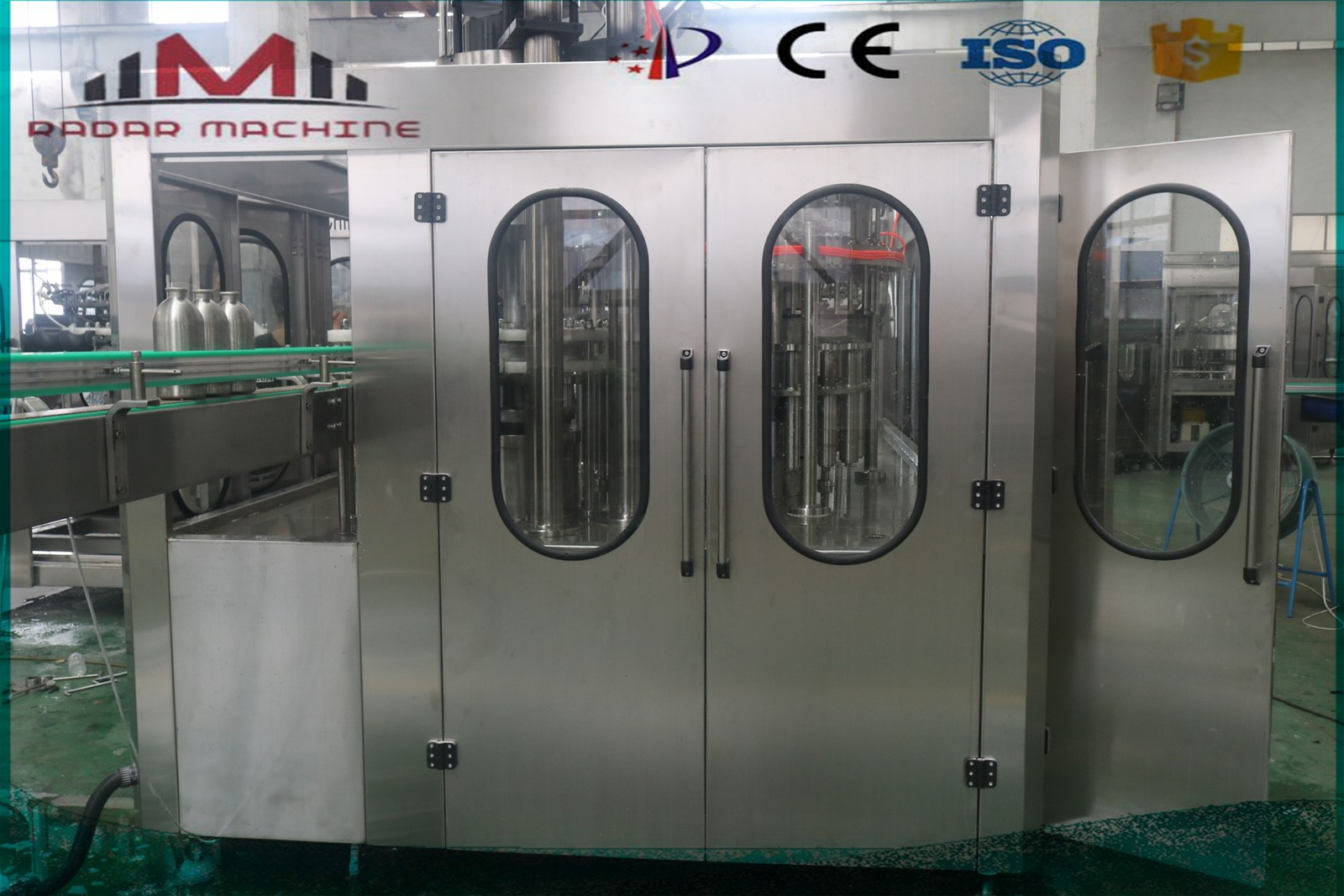 Automatic mineral bottle water filling machine