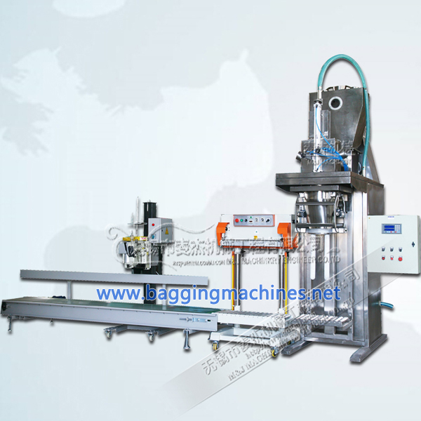Fine Starch Packing Machine Light Corn Starch Bagging Machine with Air Suction