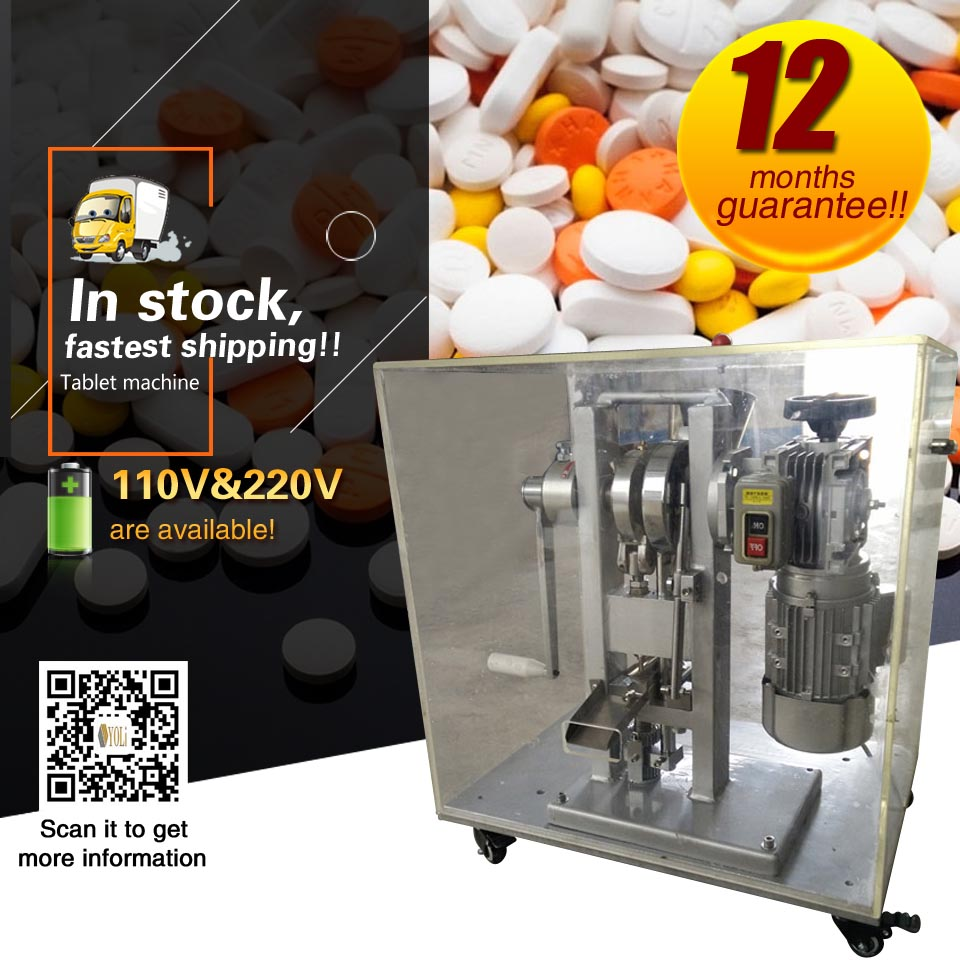 Cheap Pill Press Mini Type Big Pressure Electric Single Punch