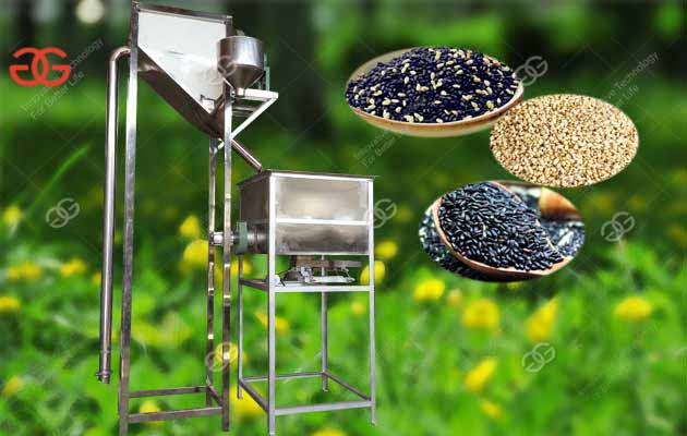 Automatic Sesame Seeds Cleaning Washing & Peeling Machine