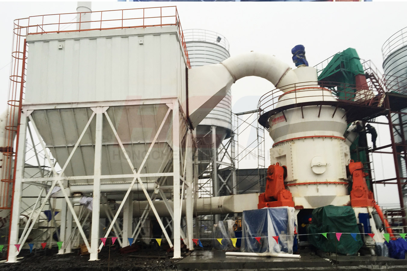 HLM Vertical Mill High Capacity Advanced Technology High Efficiency