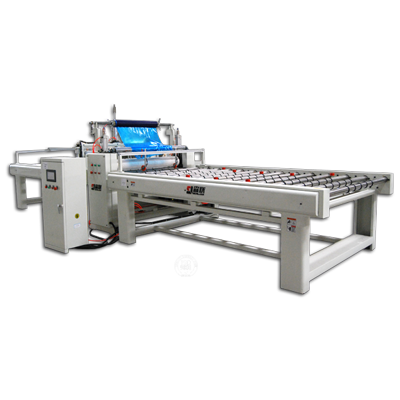 High effiicient film laminating and cutting machine