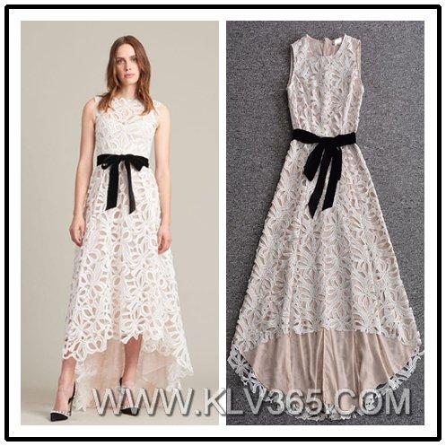 5e0d7ae74808 European Fashion Clothes Designer Women Long Lace Party Prom Dress ...