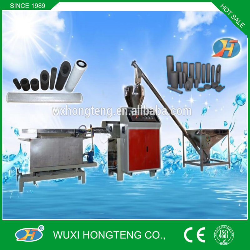 Full Automatic CTO Carbon Block Filter Cartridge Machine, Ro Water Treatment
