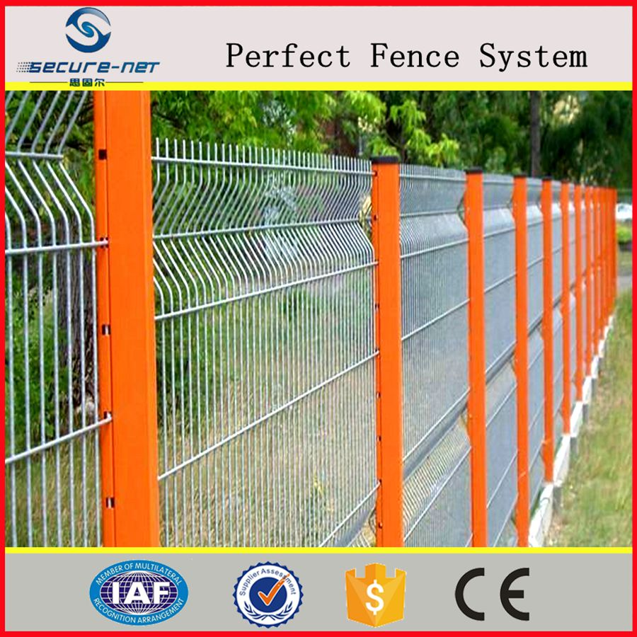Home Yard Ornamental Welded Wire Mesh Fence Hot Dipped Galvanized ...