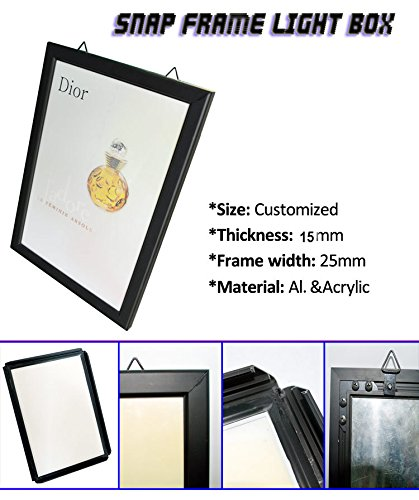 A0 aluminum snap frame Advertising Light Boxes