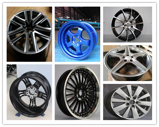 High Quality 51143 Replica Car Alloy Wheels