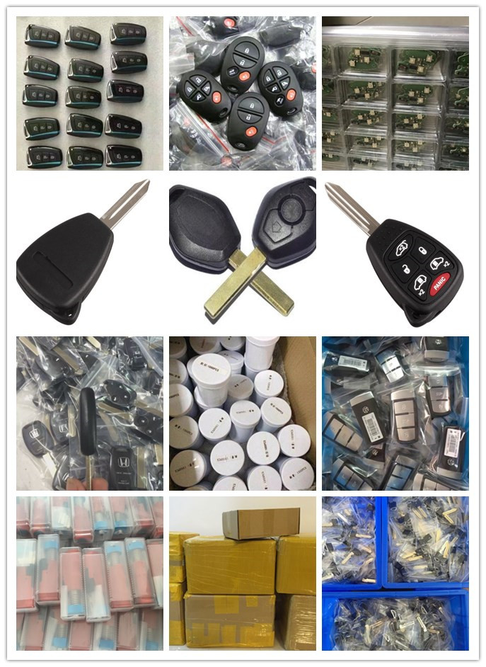 Excellent Quality 3 button auto key fob for Ford Edge Escape Remote Key 315Mhz 4D63 80Bit Chip FO38 Blade