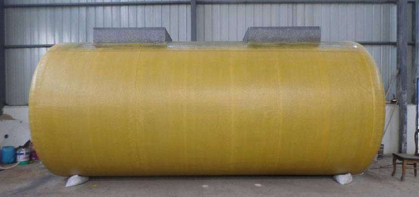 Doublewall FRP Oil Storage Tank