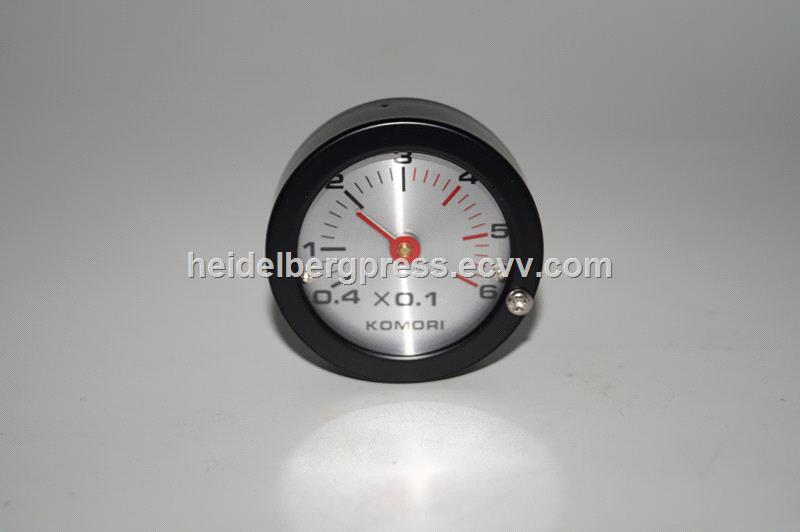 komori machine pressure gauge 2743105S01 komori original dial assy part