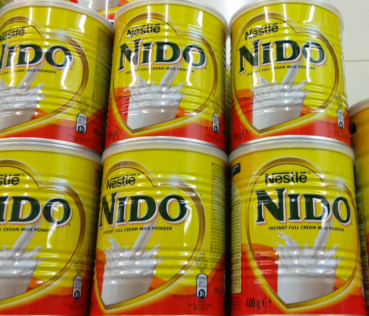 Nestle Nido Milk Powder (Red & White Cap) from Germany Manufacturer