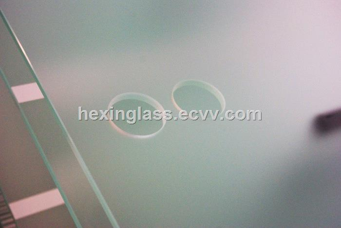 Acid Etched Glass for Glass Wall, Partitional, Railing, Kitchen Scree, Shower Screen, Door