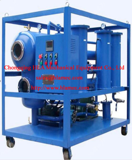 SVP SINGLE STAGE VACUUM INSULATION OIL PURIFIER OIL FILTRATION OIL PURIFICATION OIL RECYCLING OIL REGENERATION
