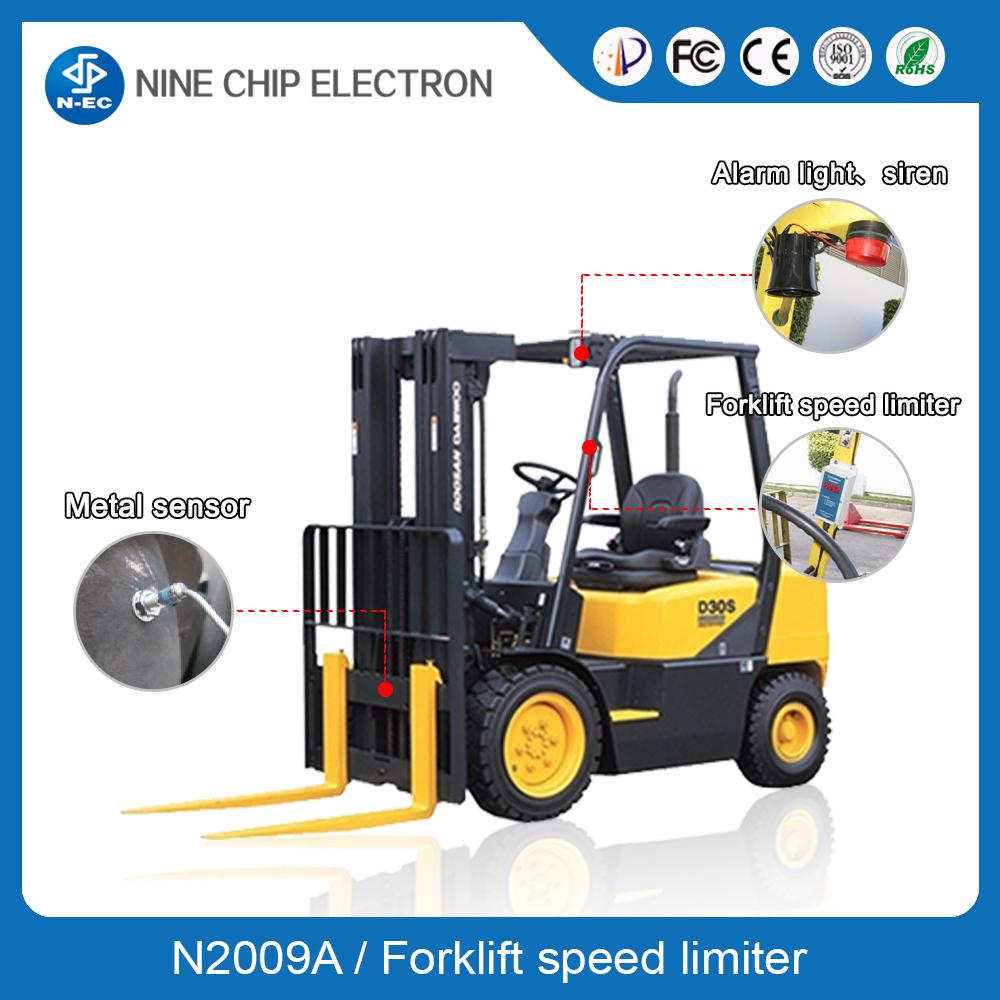 Forklift Overspeed Alarm, Toyota Forklift Speed Limiter