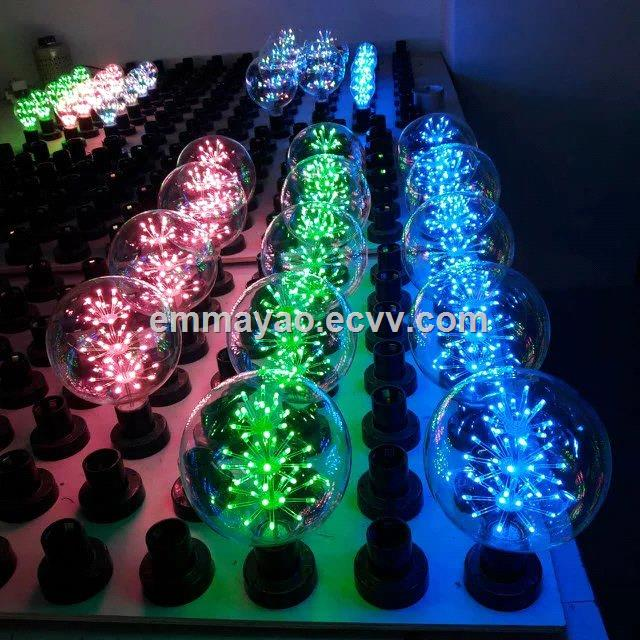 Festoon Led Bulb Decoration For Courtyard Indoor Outdoor Rgb