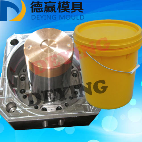 2017 New Product Plastic Injection Paint Bucket Mould Commodity Household Bucket Mould for Plastic Barrel/Pail Mold