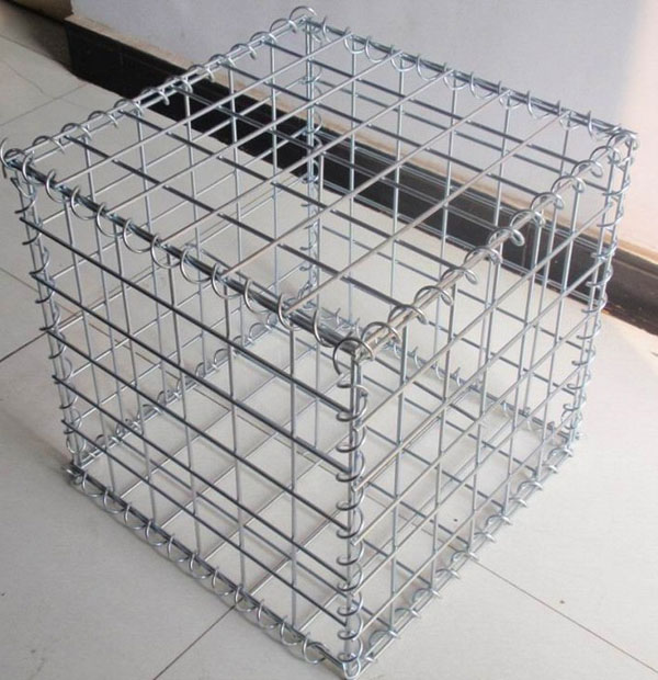 Erosion Control Stone Cage Galvanized PVC coated Hexagonal Woven Weld Gabion Box Basket Mattress