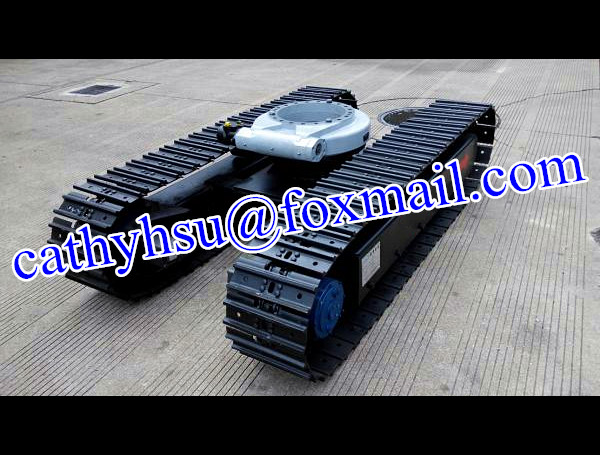 Custom Built 1-100 Ton Steel Track Undercarriage