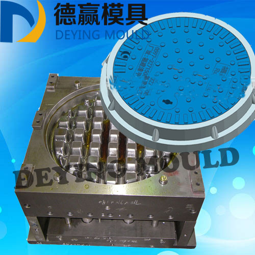 2017 Hot Sale New Product SMC/BMC Manhole Cover Mould Compression Manhole Cover Mold Making