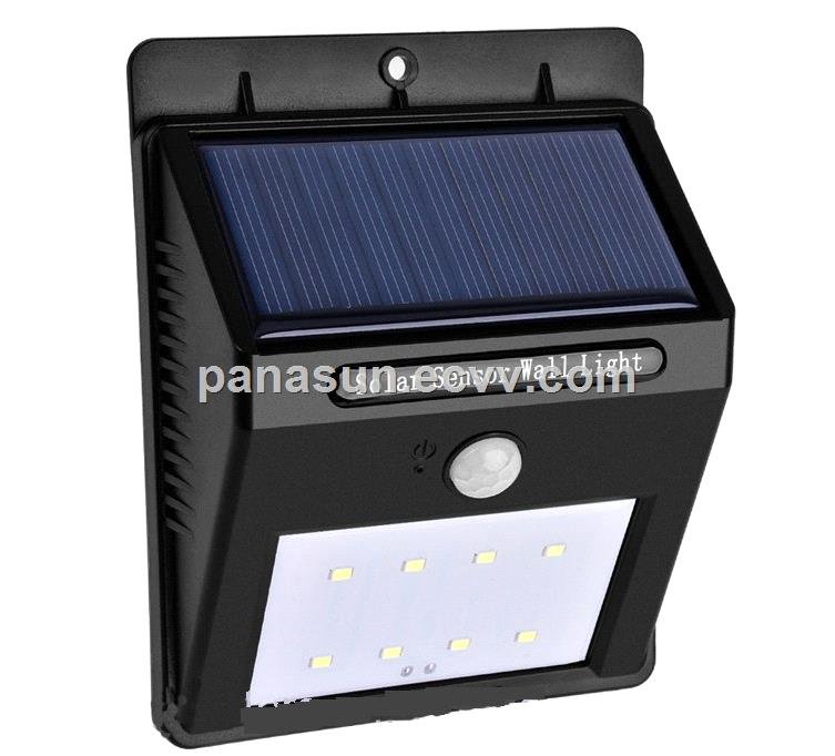 Solar Motion LED Wall Lamp