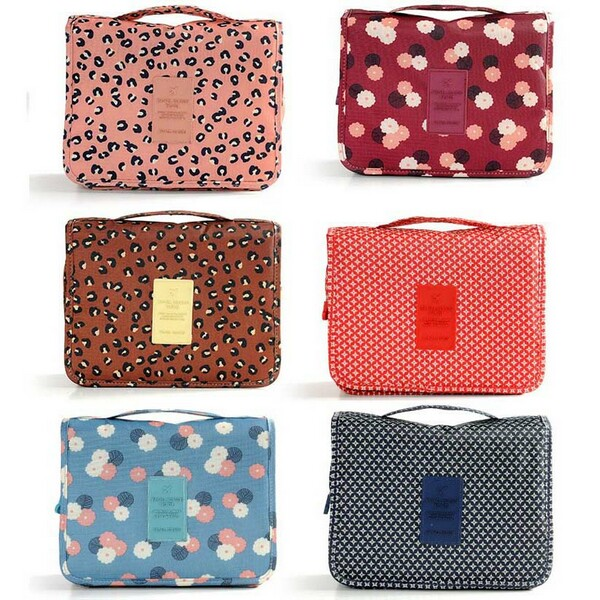 Wholesale Convenient Hanging Toiletry Travel Bag Cosmetic Bags