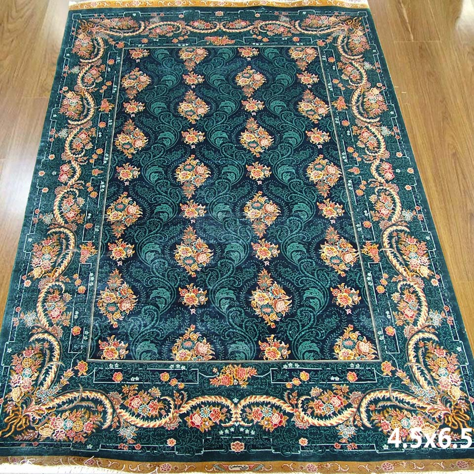 Silk Carpet Handmade Oriental Rugs