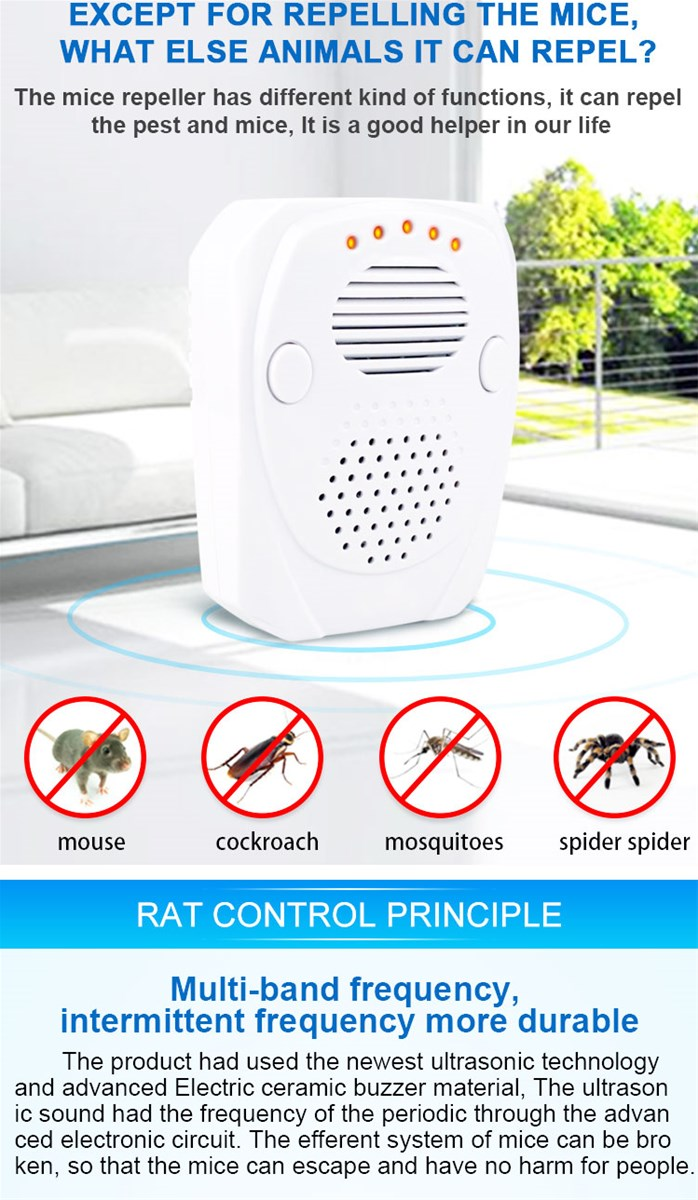Electronic Pest Repeller Abs Mouse Purchasing Souring Ultrasonic Circuit