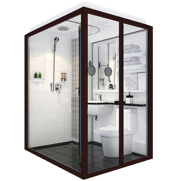 Easy installation self contained bathroom pods modular Prefabricated bathroom pods suppliers