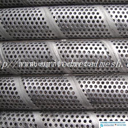 25mm Stainless Steel Perforated Exhaust Pipe Tube Price