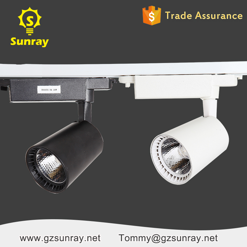 Aluminum blackwhite high brightness dimmable led track lighting aluminum blackwhite high brightness dimmable led track lighting 4000k 5500k 20w 30w led tracklight aloadofball Choice Image