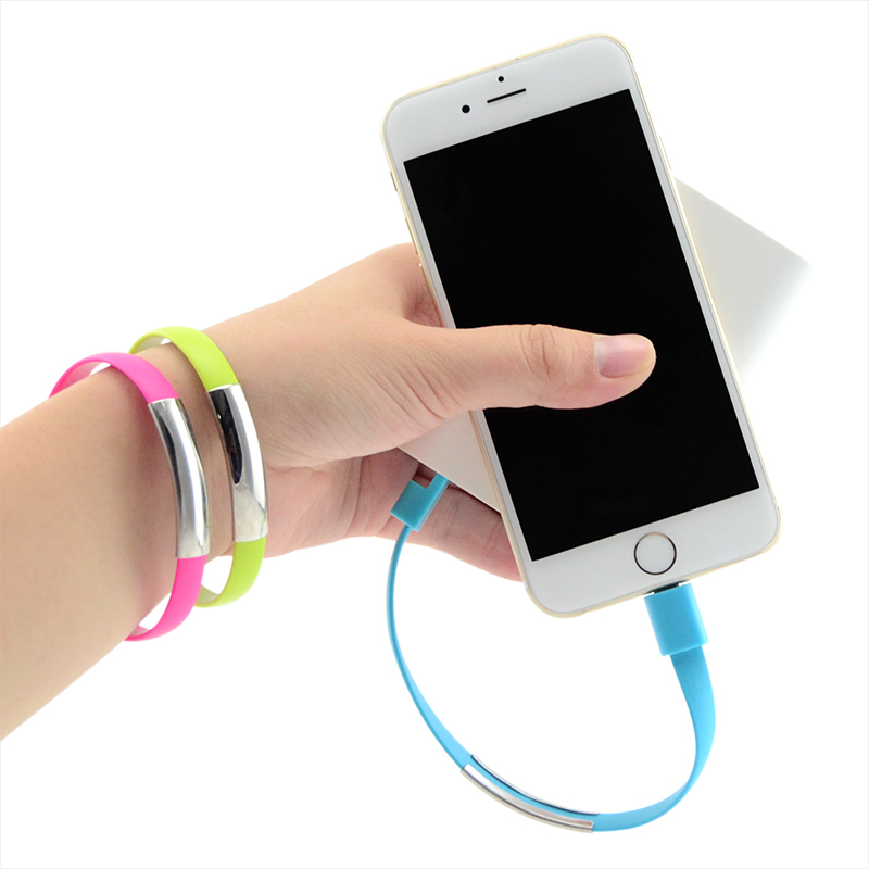 Gift Bracelet usb charging cable Wearable mobile phone data cable