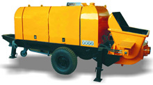 HBTS40 Trailer Concrete Pump
