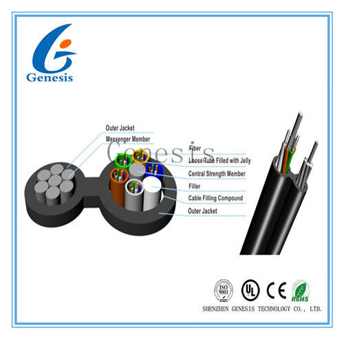 Self-Support Outdoor Aerial Fig 8 Tight Buffer Drop Cable
