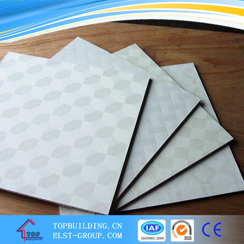 595X595mm PVC GYPSUM CEILING TILE