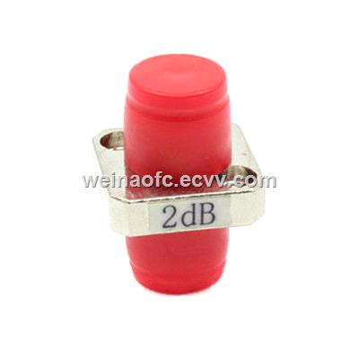 Fiber Optic Adapter Type Fixed Attenuator FC One Piece 1~25db