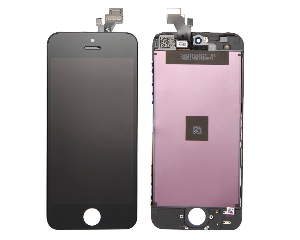 for iPhone 5 LCD Screen & Digitizer Assembly with Small Parts. HQ