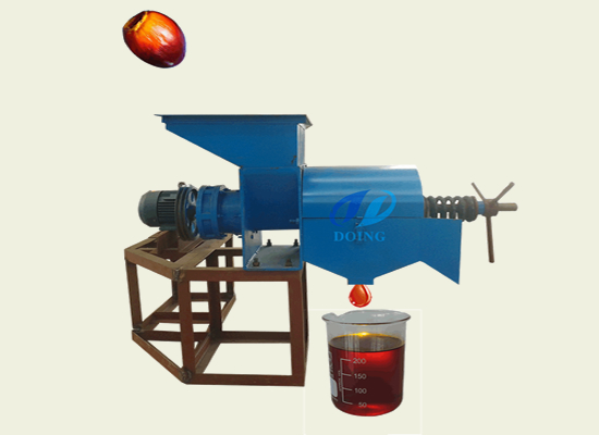 Low Cost Extruding Palm Fruit Oil Processing Machine