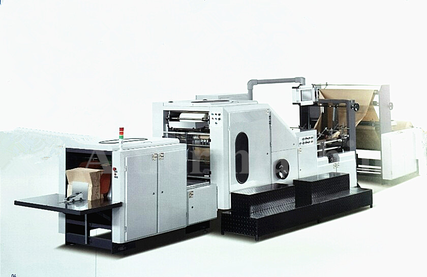 Roll Paper Bag Making Machine Model RSB-450 (Square Bottom)