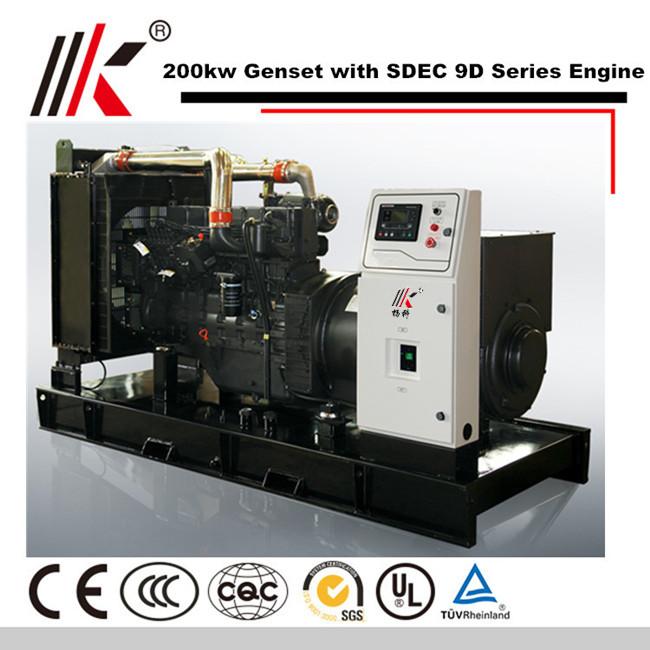Diesel Generator For Sale >> 200kw Generator Set With Sdec Sc9d310d2 Diesel Engine 250kva Genset Diesel Generator Price