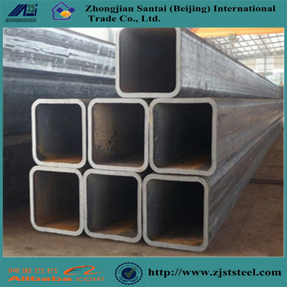 ASTM A500 Black Steel Hollow Section Ms Square Tube Shs Carbon Steel