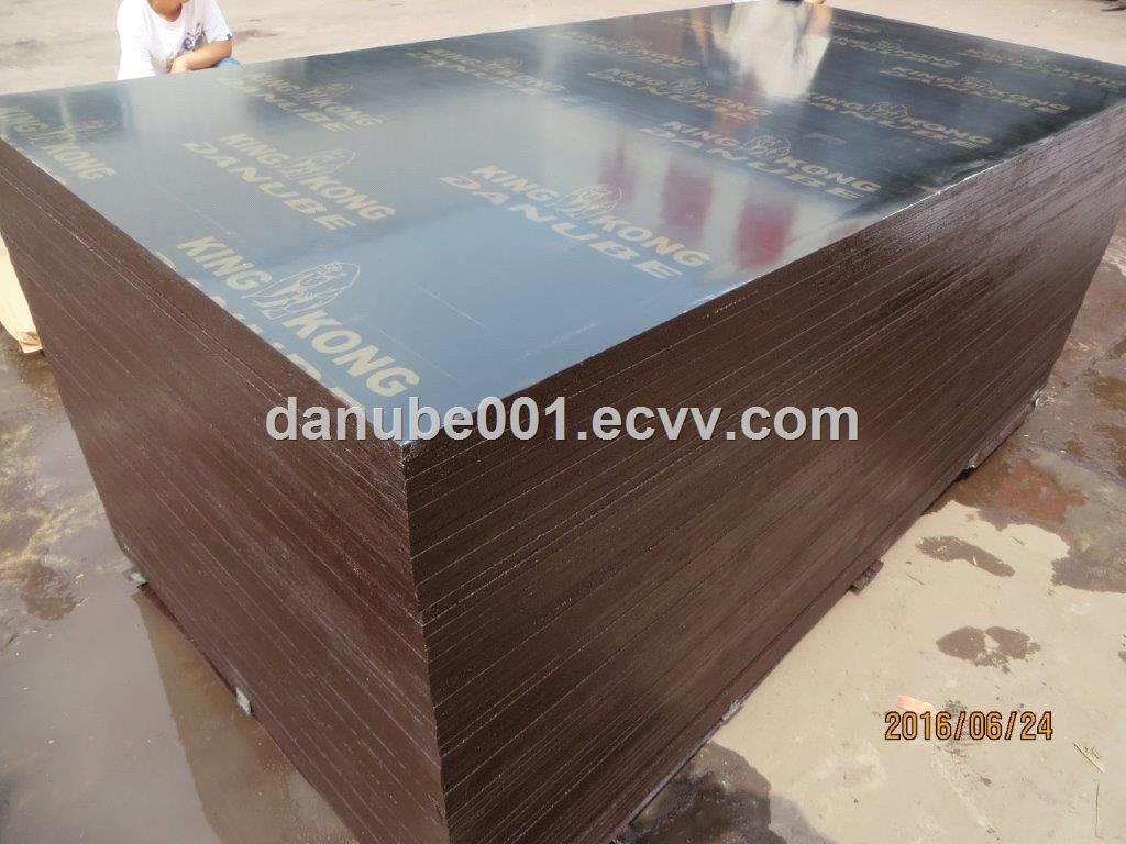 Black film face plywood with logo or without logo48 feet12mm15mm18mm21mm25mm