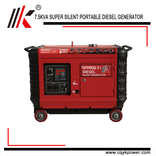 Diesel Generator For Sale >> 4 5kw 12kw Low Noise Small Portable Soundproof Super Silent Genset
