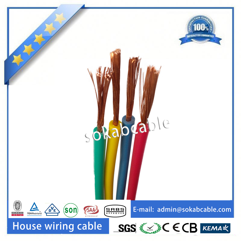 Flexible Copper Conductor Pvc Insulated Electrical Wire Purchasing Electric China