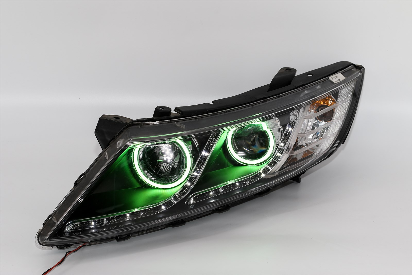RGB angel eye for car headlight assembly