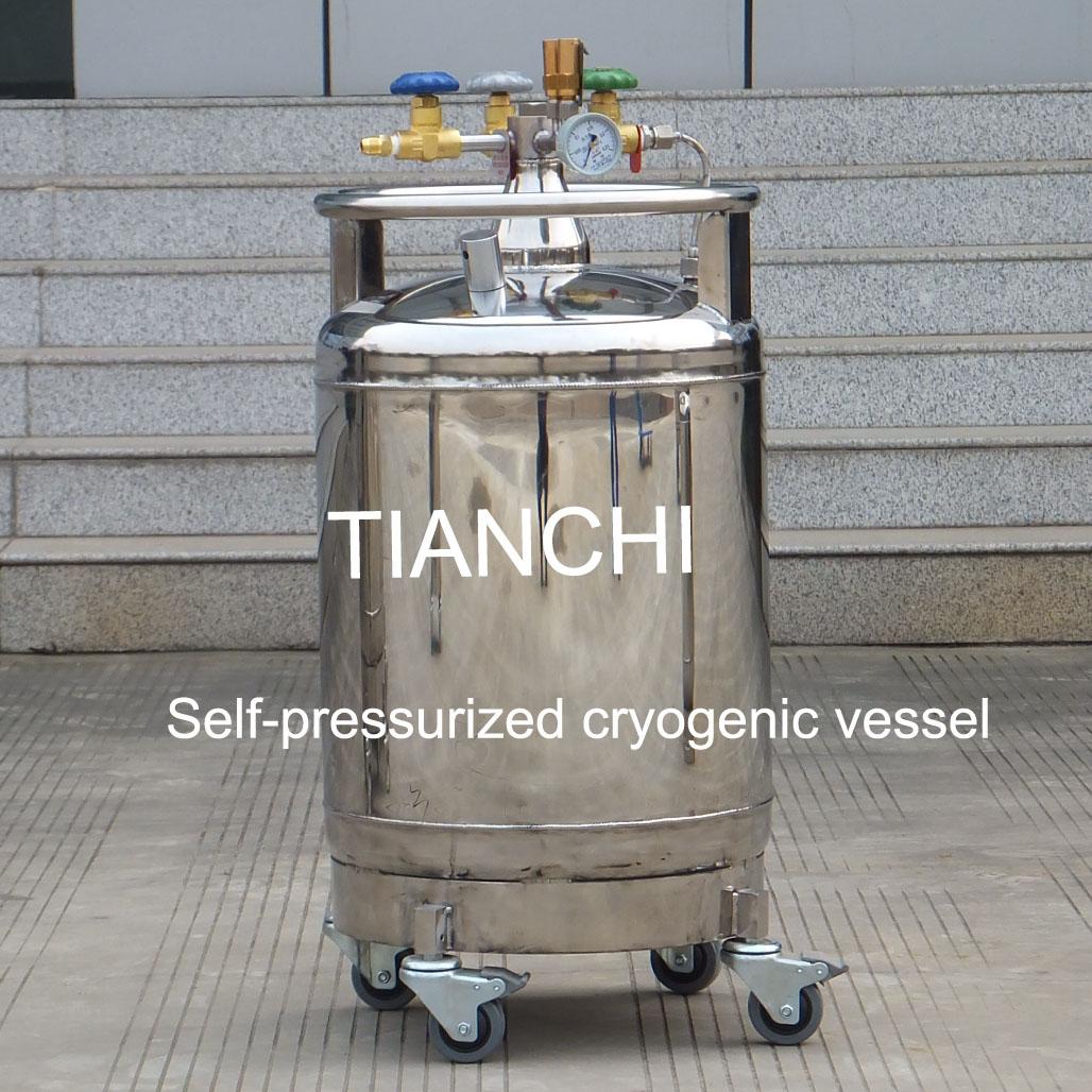 TianChi YDZ-800 Self-Pressured Cryogenic Vessel Price in KR